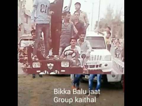 Yariyan BIKKA+ jat group KAITHAL all boys + JASSI koda