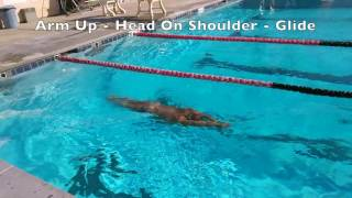 Slow Motion How to Breathe Freestyle Front Crawl