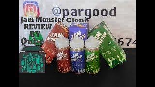 жидкость JamMonster Клон обзор  Цена = качество  Online VapeShop