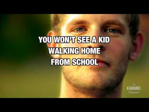 Walking In L. A. in the style of Missing Persons | Karaoke with Lyrics
