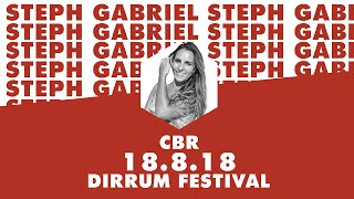 Steph Gabriel | Sustainability in Style | #dirrumfestivalCBR 2018