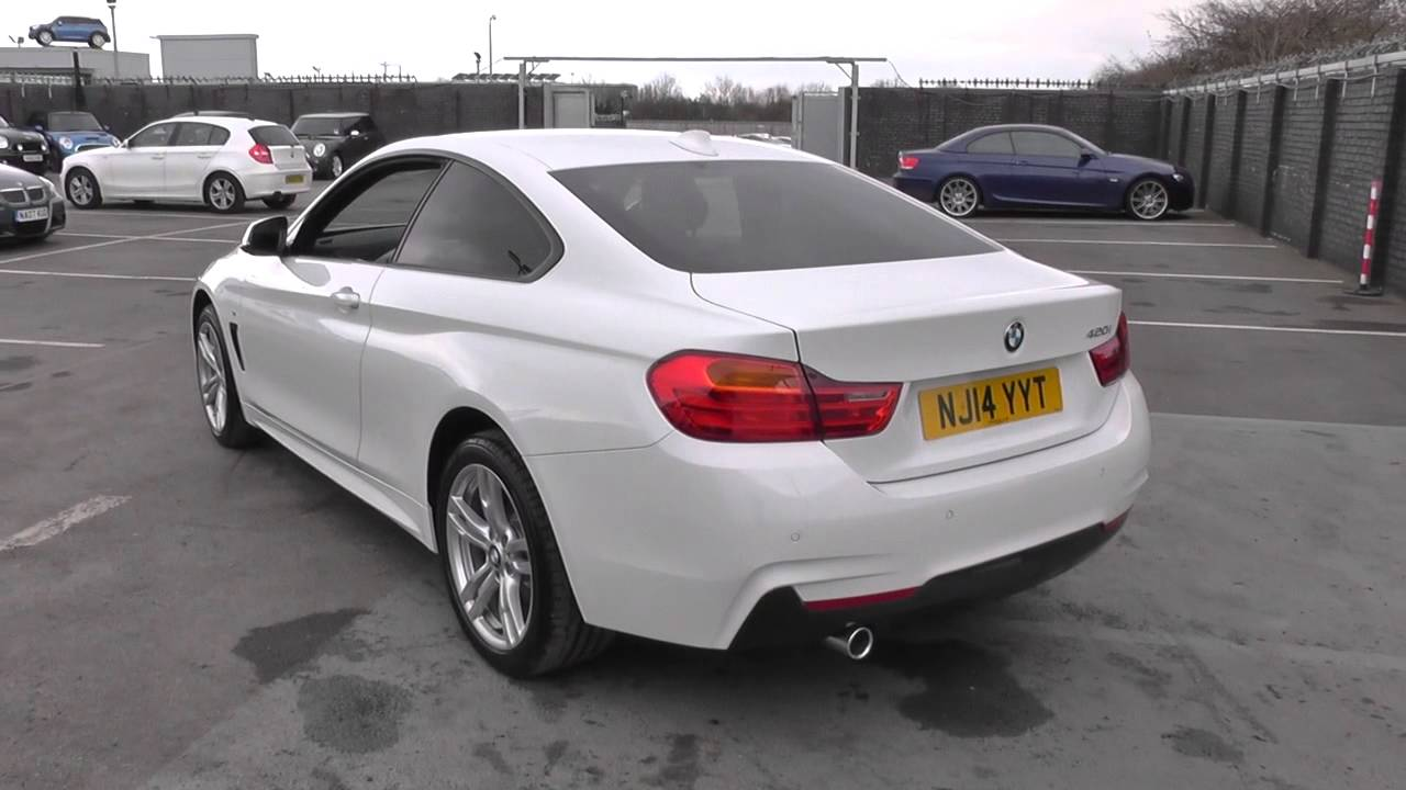 bmw 4 series 420i m sport 2dr u11875 youtube. Black Bedroom Furniture Sets. Home Design Ideas