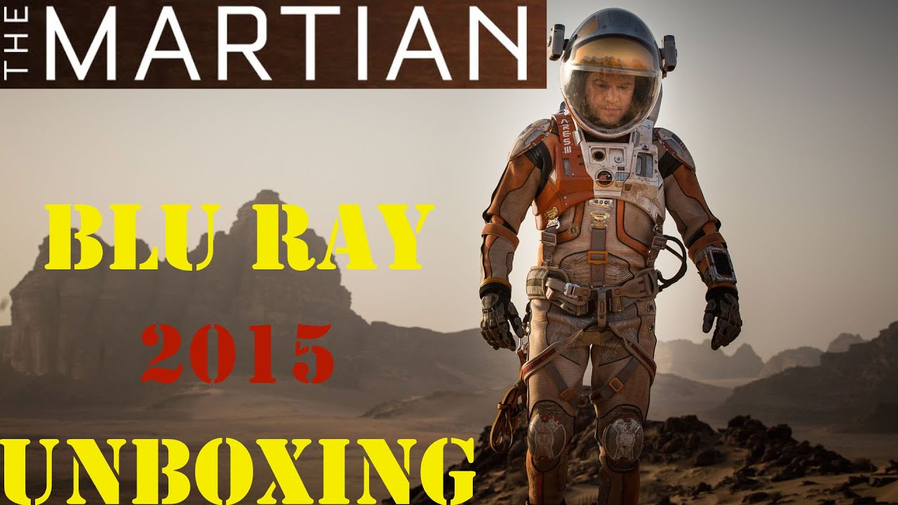 Download The Martian Blu Ray Unboxing