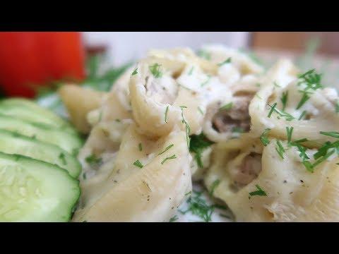макароны с фаршем в соусе бешамель пошаговый рецепт