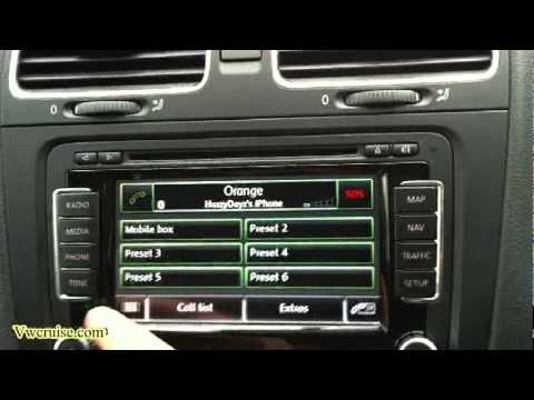 vw bluetooth with rns 510 youtube. Black Bedroom Furniture Sets. Home Design Ideas