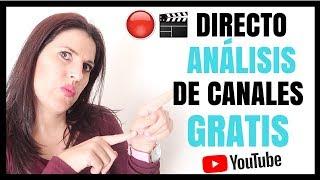 ANALISIS DE CANALES GRATIS - SOLO PARA SUSCRIPTORES + Q & A