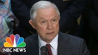 Sessions Announces Return To Previous Civil Asset Forfeiture Policy | NBC News Free HD Video
