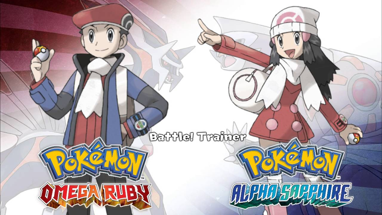 Battle Sinnoh Trainer Pok 233 Mon Omega Ruby Alpha