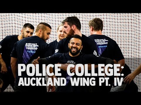 New Zealand Police College 4: Getting Physical!