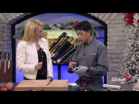 A Sharp Knife is a Safe Knife on Global BC News at Noon