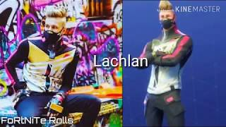 Fortnite look alikes *Real life*