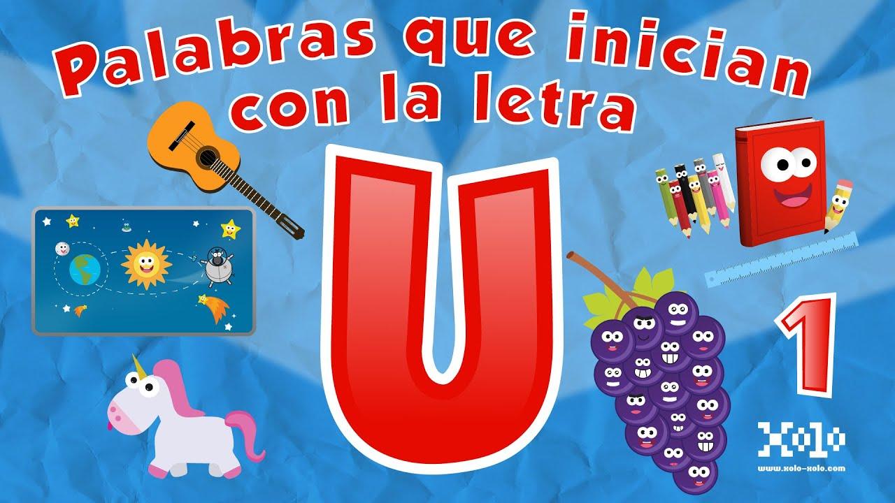 Palabras Que Inician Con La Letra U En Español Para