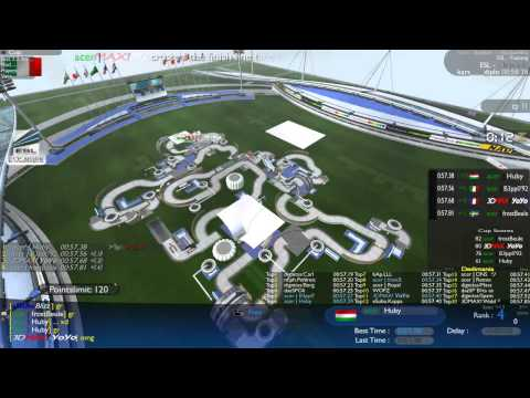 EMS - Semi-Final | FrostBeule vs. YoYo vs. B3pp0'92 vs. Huby [Trackmania]