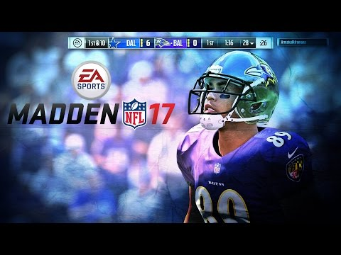 Madden NFL 17 {PS4/XB1} Steve Smith  Highlights