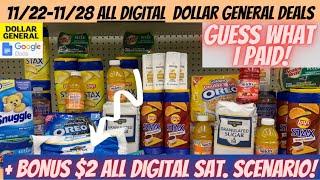 😁11/22 -11/28 Dollar General Deals Can Do NOW   ALL DIGITAL FOOD DEALS +{$2  ALL DIGITAL SAT. DEAL}😎