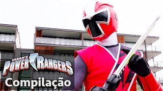 Video Power Rangers em Português | Power Rangers Salvam o Dia! | Power Rangers Super-heróis download MP3, 3GP, MP4, WEBM, AVI, FLV Juni 2018