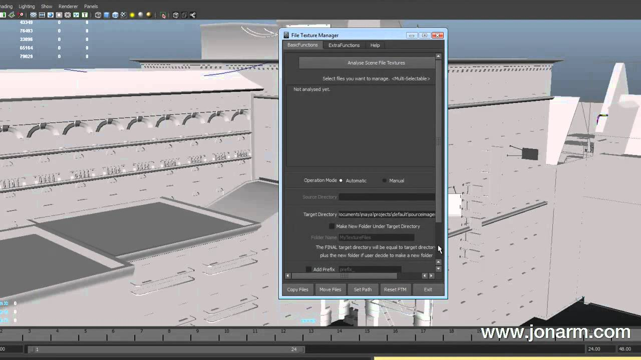 File Texture Manager Video Tutorial for Maya 2011