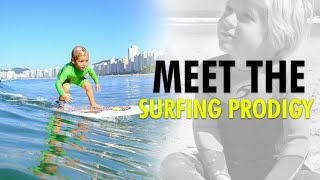 4 Year Old Brazilian Surfing Prodigy Stuns The World With His Smooth Moves   WION News