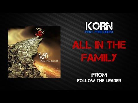 Korn - All In The Family [Lyrics Video]