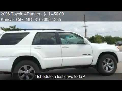 2006 Toyota 4runner Limited 4dr Suv 4wd W V8 For Sale In Kan Youtube