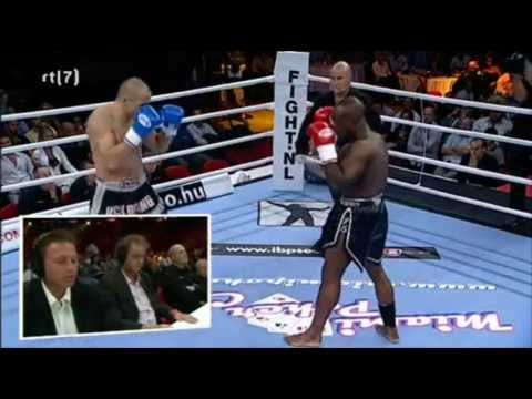 Melvin Manhoef Vs Denes Racz (It's Showtime - Budapest)