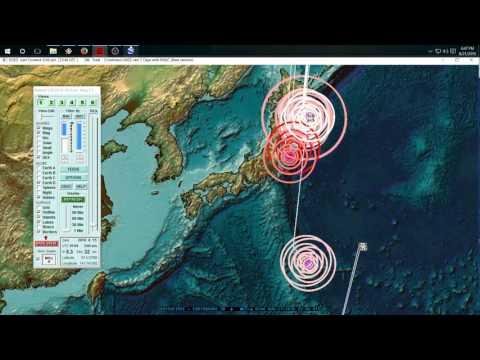8/21/2016 -- Japan + West coast USA watch - 𝔼𝕒𝕣𝕥𝕙𝕢𝕦𝕒𝕜𝕖𝟛𝔻 𝓵𝓲𝓿𝒆 𝓼𝓽𝓻𝒆𝓪𝓶 Nightly Update