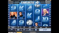 Fantastic 4 Mobile Slot Game|5 Reel 20 Payline|Progressive slot