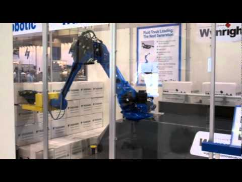 Robotic Truck Loader At Packexpo 2011 Youtube