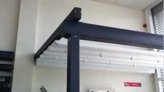Pergola Roof System 'novo' Opens And Closes - Terrasoverkapping Novo Opent En Sluit