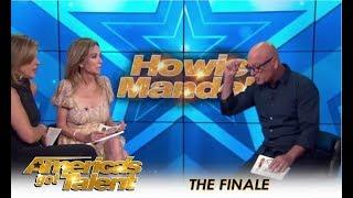 Howie Mandel REVEALS His Top 3 Picks for AGT Winner!  | America's Got Talent 2018
