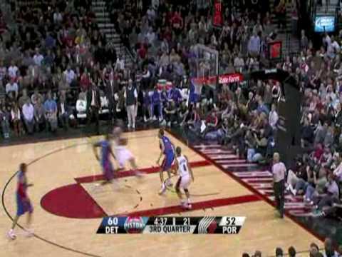Pistons 83 - 84 Blazers (Season 2008-2009)