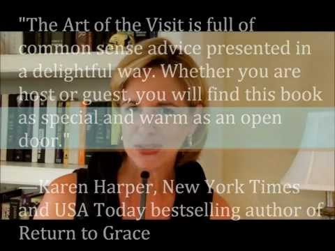 The Art of the Visit, book trailer, Kathy Bertone