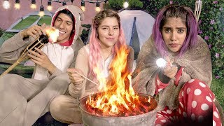 CAMPING AT HOME | LOS POLINESIOS VLOGS