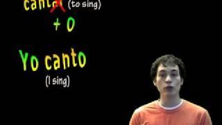 01019 spanish lesson present tense ar verbs yo form