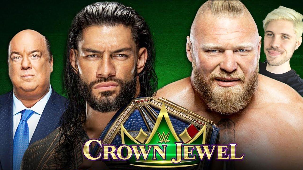 WWE Crown Jewel 2021 Predictions! Adam Blampied vs Chopper Pete   WrestleTalk