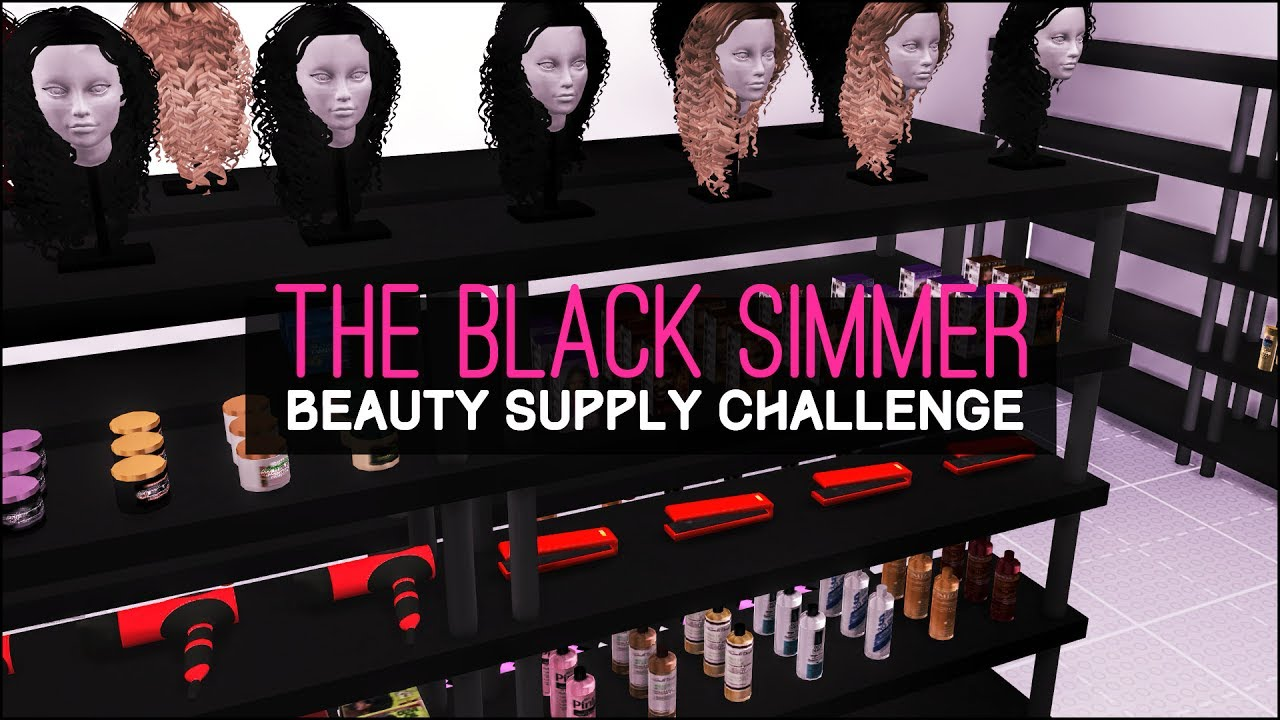 The Sims 4 Speed Build The Black Simmer Beauty Sup