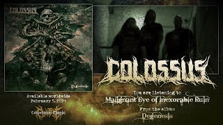 COLOSSUS - MALIGNANT EYE OF INEXORABLE RUIN [SINGLE] (2020) SW EXCLUSIVE