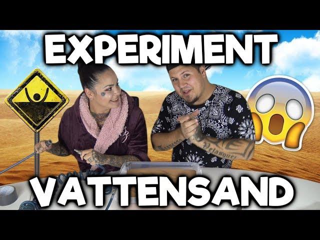 Skapar Flytande Sand Experiment