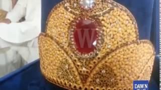 Gold crown for Maryam Nawaz