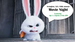Irvington, NJ's 10th Annual Movie Night (Secret Life of Pets)