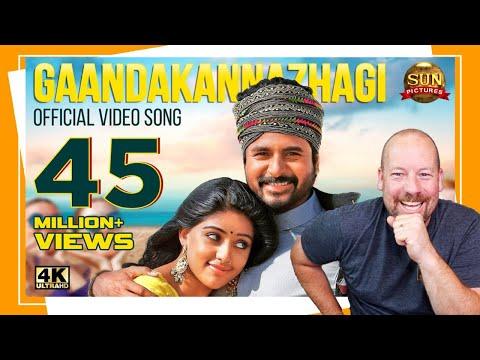 GaandaKannazhagi Video Song | Namma Veettu Pillai | Sivakarthikeyan | REACTION