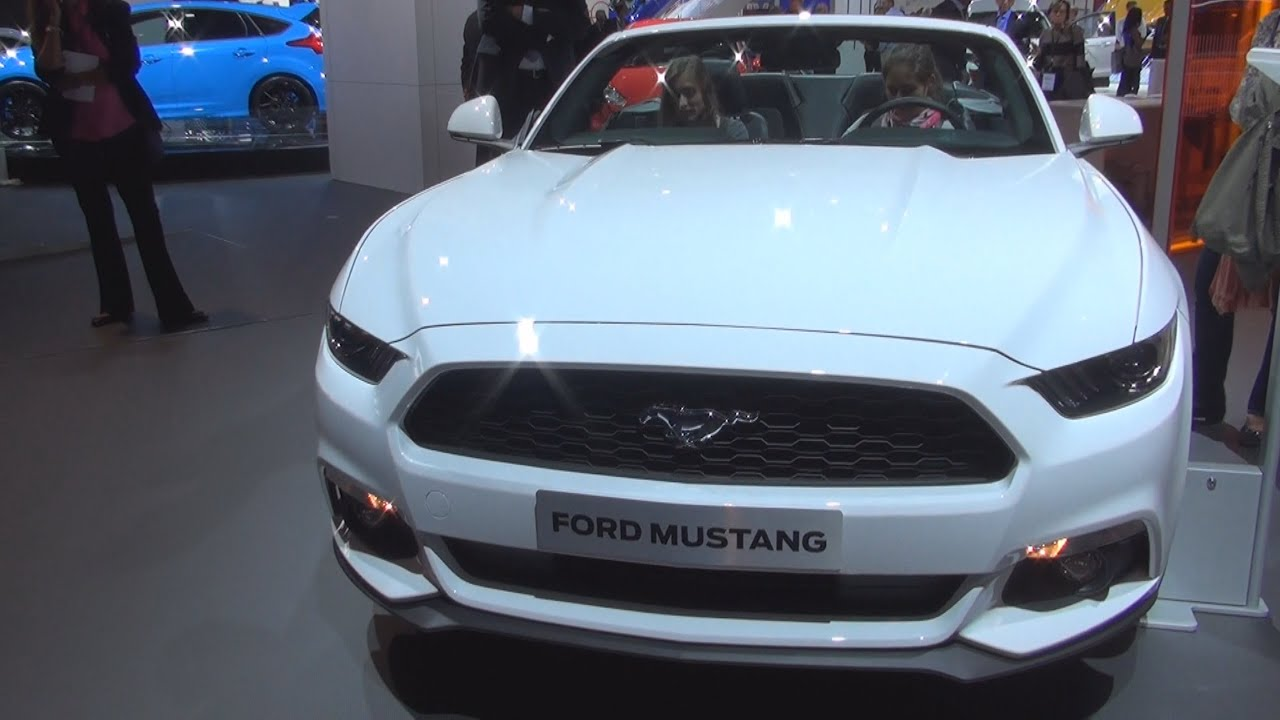 ford mustang 2 3 ecoboost 233 kw automatic 2016 exterior and interior in 3d youtube. Black Bedroom Furniture Sets. Home Design Ideas