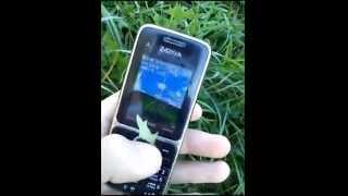 Crash test Nokia C2-01
