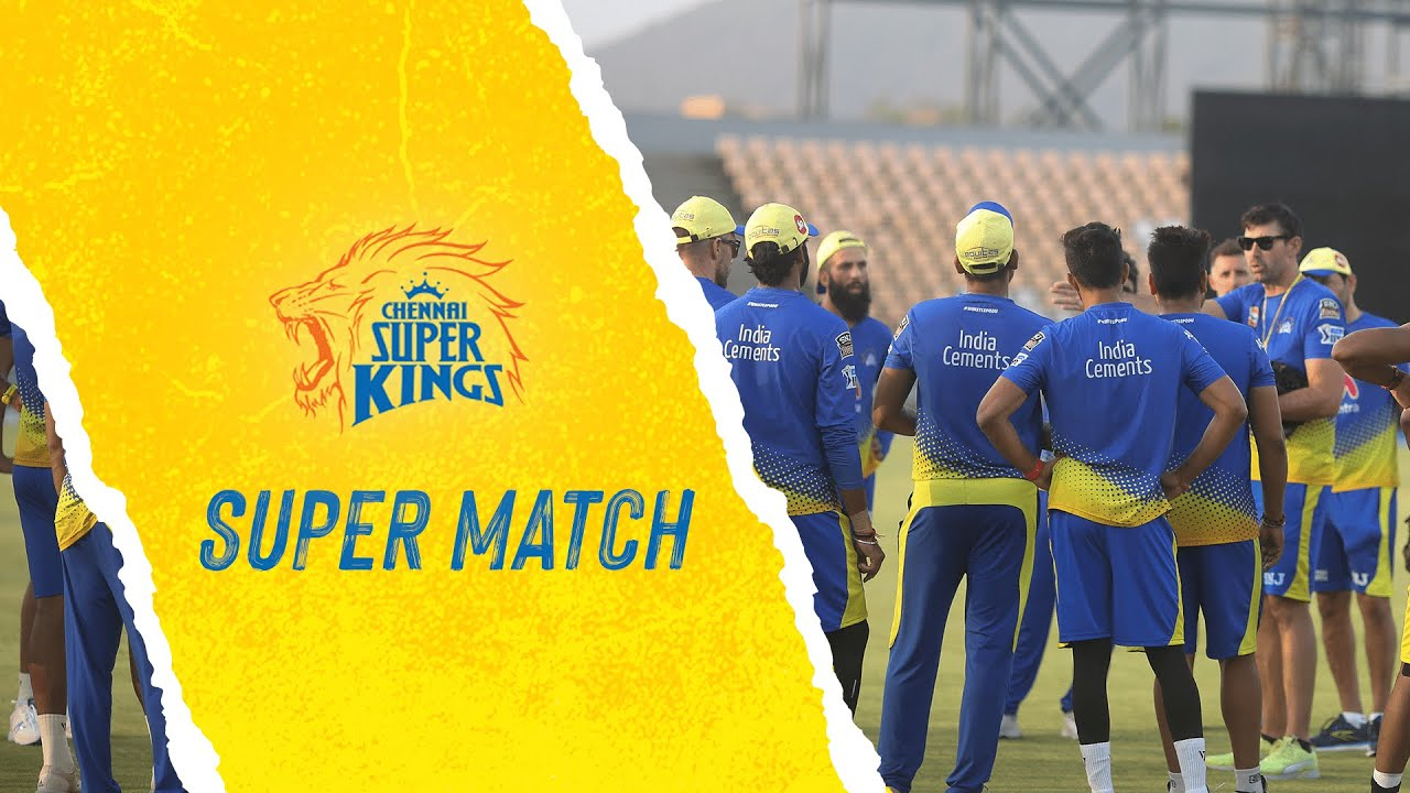 Download #SuperMatch highlights!  #WhistlePodu #Yellove �💛