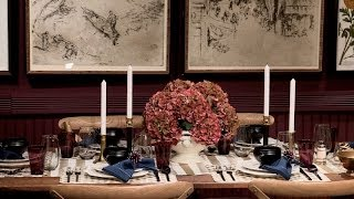How to Hone the Perfect Holiday Dining Table