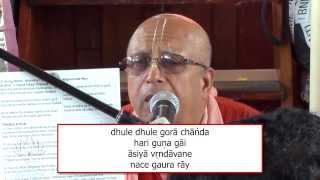 Dhule Dhule Gora Chanda - HH Vedavyasa Priya Swami Bhajans on the Boat