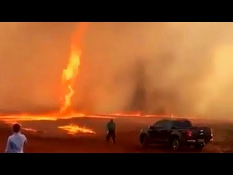 Tornado api langka di Brazil; Sakit gigi dibiarkan ternyata tumor - TomoNews Terbaru