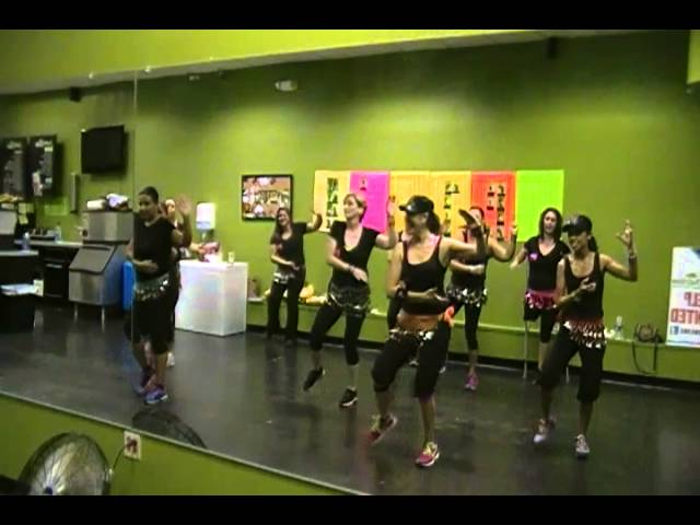 Propuesta Indecente, Mirna Rodriguez Zumba Travel Video
