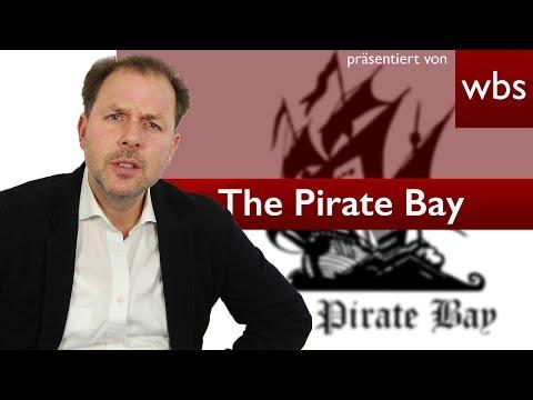 """""""The Pirate Bay"""" verletzt selbst Urheberrechte!   Rechtsanwalt Christian Solmecke"""