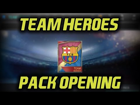 TEAM HERO BARCELONA PACK?!? | FIFA 17 Mobile